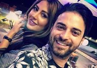 بابک جهانبخش و همسر خوش تیپ