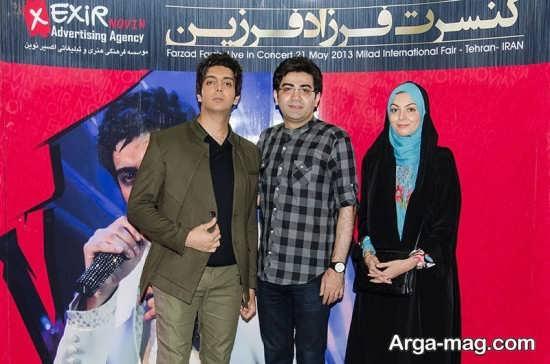 بیوگرافی جدیدی از فرزاد حسنی