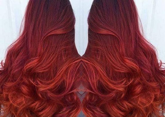 رنگ موی شرابی مسی