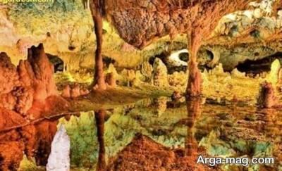 زیبایی غار کتله خور