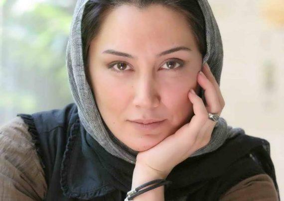 نمایی محو از چهره هدیه تهرانی