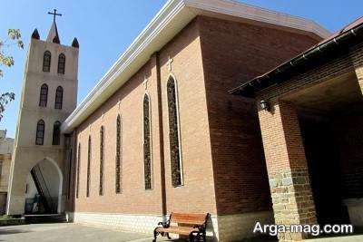 نمایی از کلیسای ننه مریم