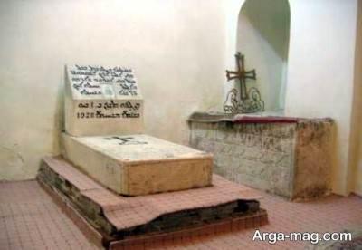 قبر کلیسا ننه مریم