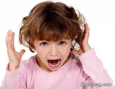 مقابله با جیغ زدن کودک