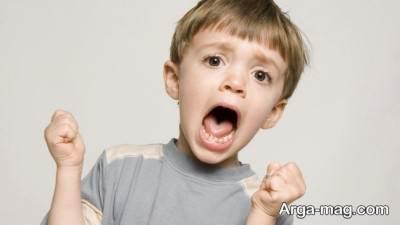 تغییر رفتار جیغ زدن در کودک