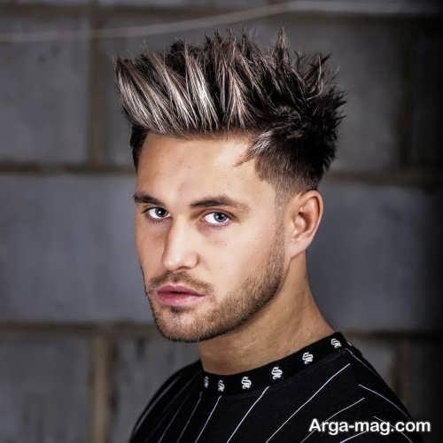 مدل مو شیک و خاص مردانه