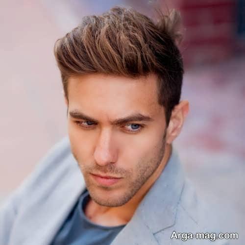 مدل موی زیبا و بلند مردانه