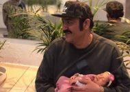 مهران غفوریان و دخترش هانا