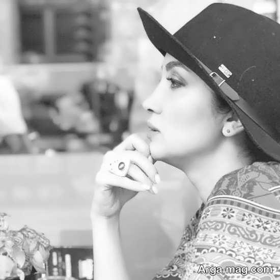 عکس سیاه و سفید روناک یونسی