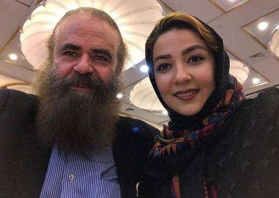 ست جذاب سارا صوفیانی و همسر