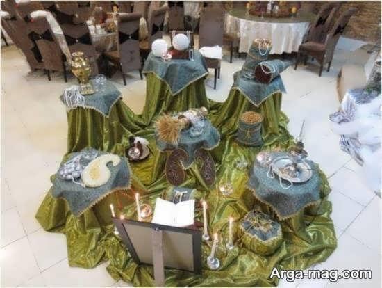میز عقد سنتی