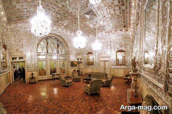 نمای کاخ گلستان تهران