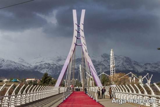 مناطق مدرن تهران