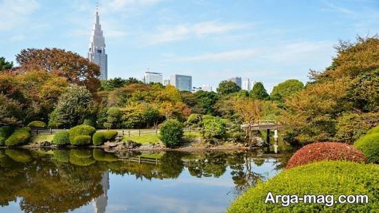 مکان های طبیعی توکیو
