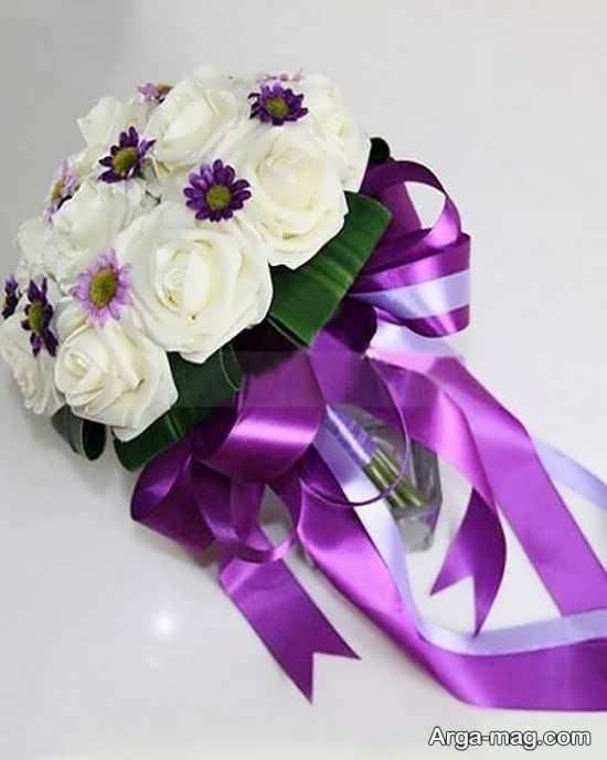 دسته گل جذاب و مصنوعی عروس
