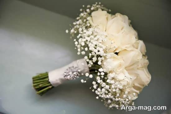 مدل جذاب دسته گل مصنوعی عروس