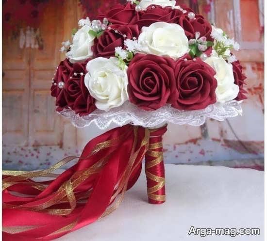 دسته گل رز عروس مصنوعی