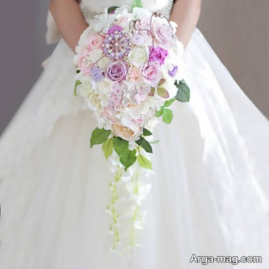 دسته گل عروس مصنوعی