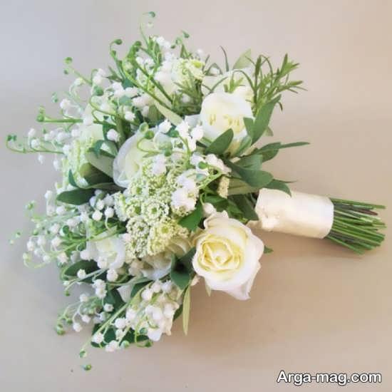 مدل شیک دست گل برای عروس