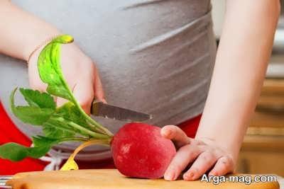 خواص تربچه در بارداری