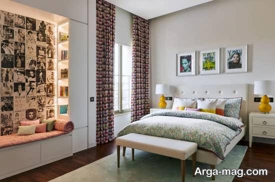 ۲۵ مدل فرش اتاق خواب جدید با طراحی چشم نواز