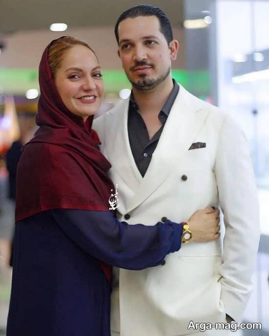 عکس های دو نفره مهناز افشار و همسرش