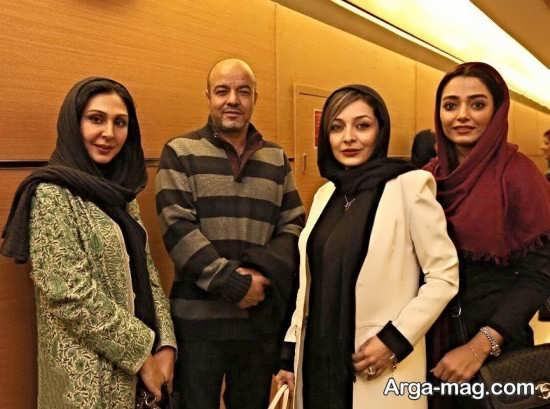 عکس های سعید آقاخانی در کنار بازیگر زن سینمای ایران