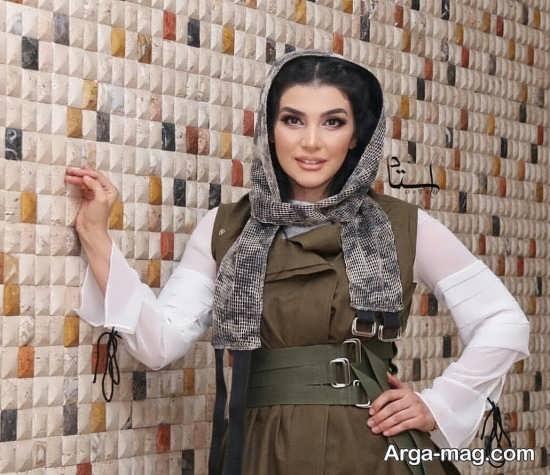 عکس سارا سهیلی فرزند سعید سهیلی