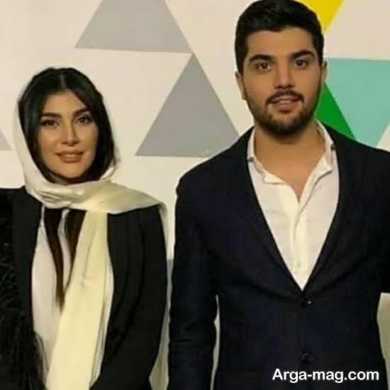 تصاویر سارا سهیلی و برادرش سینا مهراد