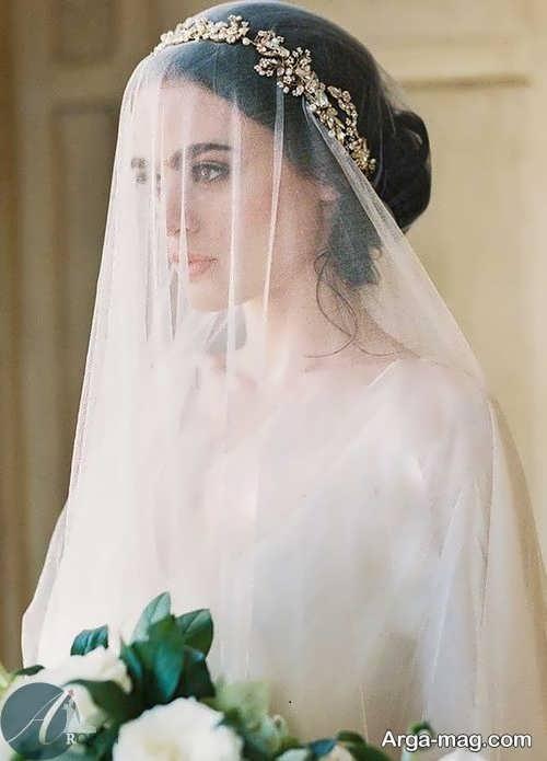 تور زیبا و شیک عروس