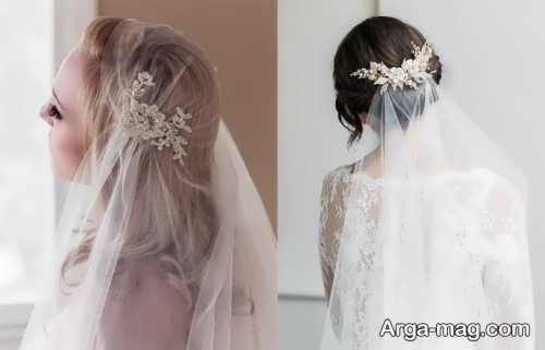 تور زیبا برای عروس