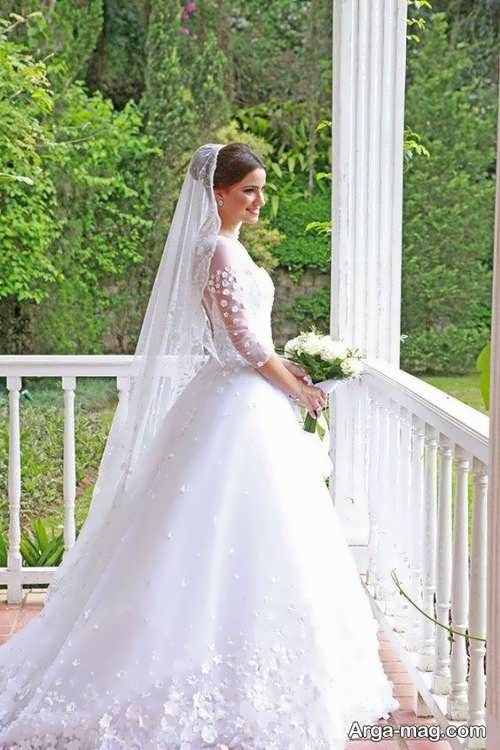 تور بلند عروس