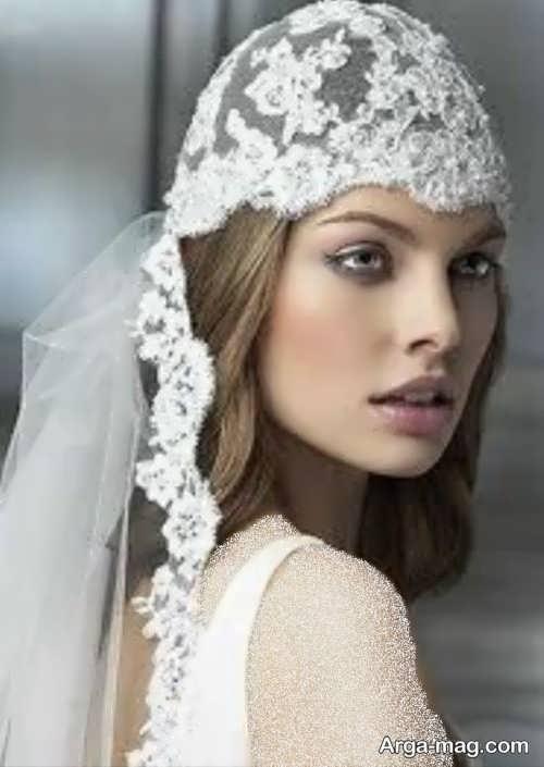 مدل تور زیبا عروس