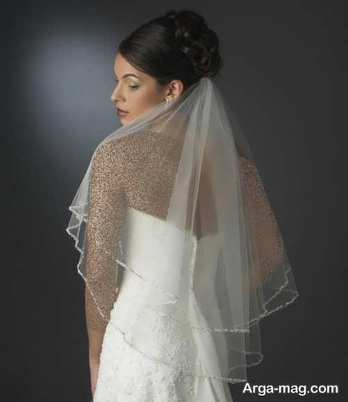 تور ساده عروس