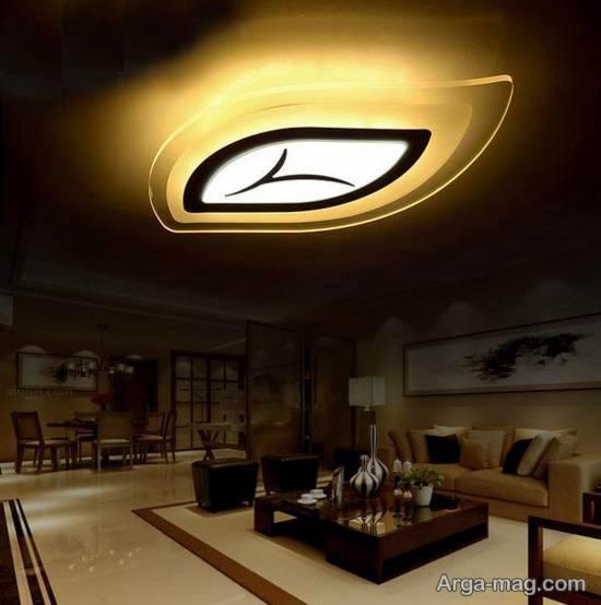 چراغ سقفی رو کار