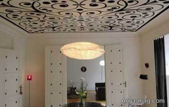 جدید ترین کاغذ دیواری برای سقف
