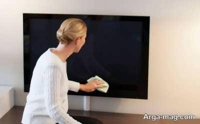 پاک کردن صفحه نمایشگر ال سی دی