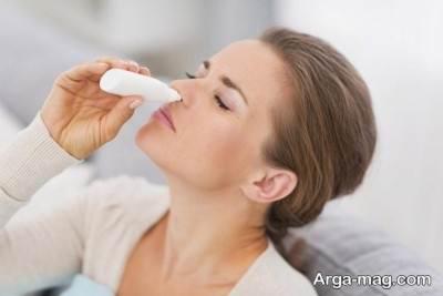 استفاده از اسپری بینی برای درمان سردر خوشه ای