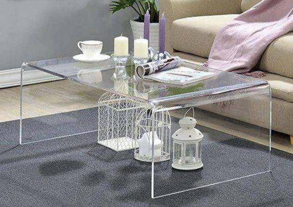 تزیین زیر شیشه میز