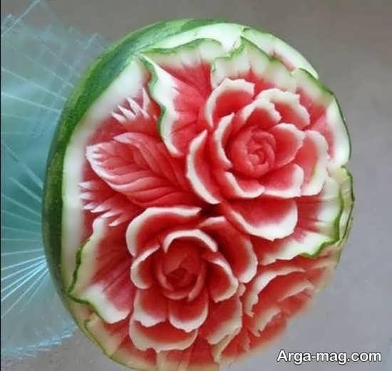 تزیین جذاب هندوانه