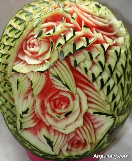 تزئینات خلاقانه هندوانه