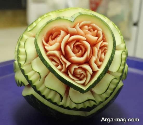 ایده های متفاوت برای تزئینات هندوانه