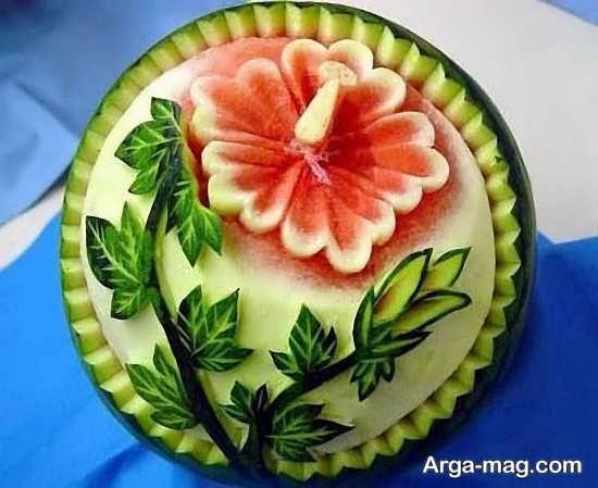 متفاوت ترین تزئین هندوانه