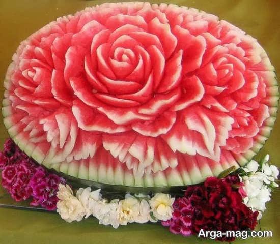 خلاقانه ترین تزئین هندوانه