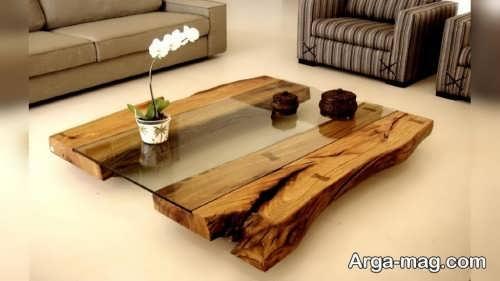 ساخت میز پذیرایی با چوب
