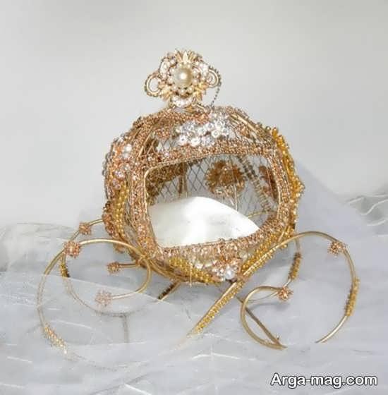 مدل متفاوت برای تزئین جای حلقه