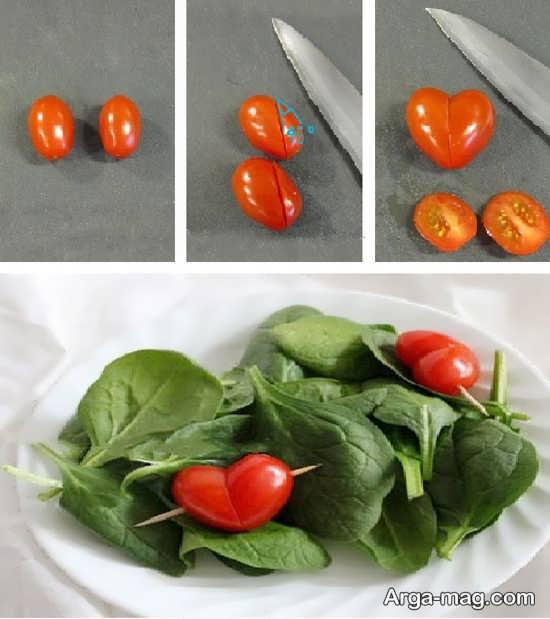 مدل های جدید تزئین گوجه فرنگی