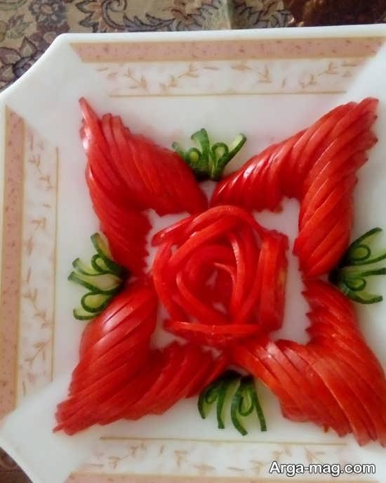 تزیینات جدید گوجه فرنگی