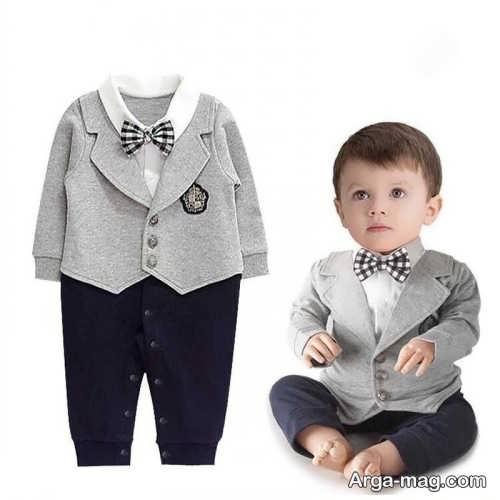 مدل لباس نوزاد پسرانه مجلسی
