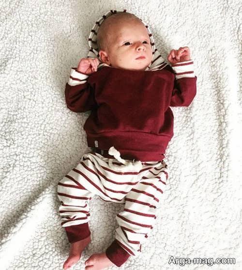 مدل لباس راحتی نوزاد